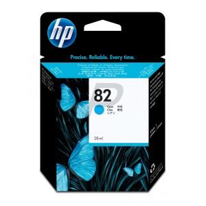 C4911A : Cartouche d'encre HP Designjet 82 69ml (cyan)